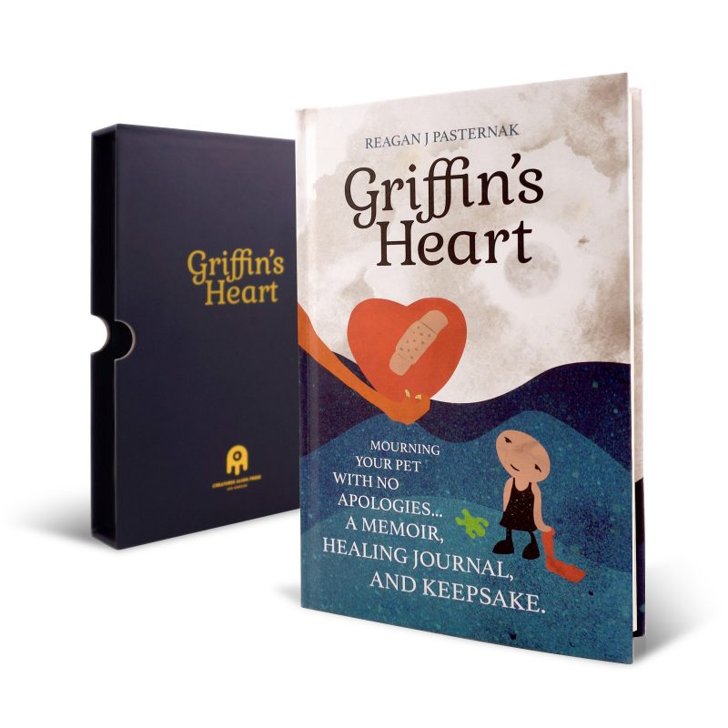 Griffin's Heart: Mourning Your Pet with No Apologies | A Memoir, Healing Journal, and Keepsake | Pet Loss Gift